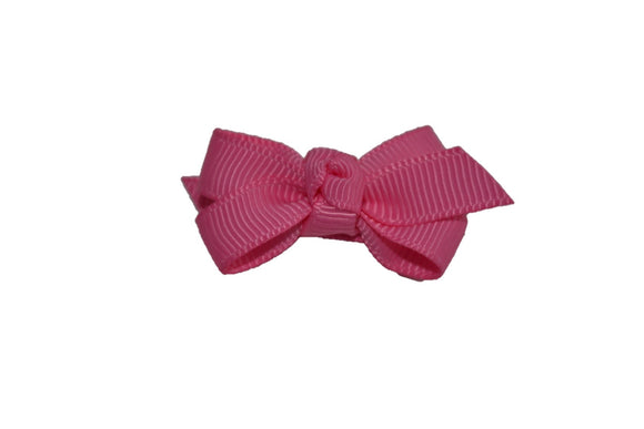 Knot Baby Snap Clip - Pink - Dream Lily Designs