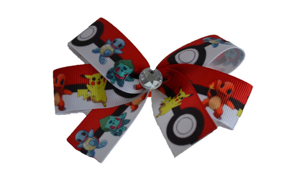 Pokemon Pikachu Bow (Misc Characters) - Dream Lily Designs