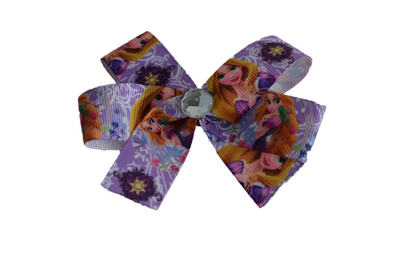 Purple Rapunzel Bow (Disney) - Dream Lily Designs