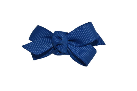 Knot Baby Snap Clip - Royal Blue - Dream Lily Designs