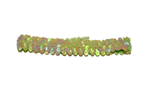 "Lime Green .5"" Sequin Headband - Dream Lily Designs"