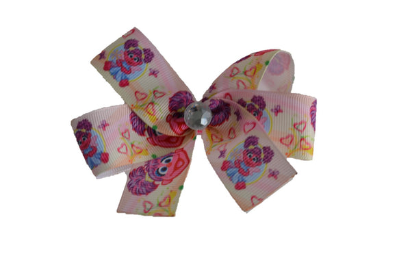 Abby Cadabby Sesame Street Bow (Misc Characters) - Dream Lily Designs