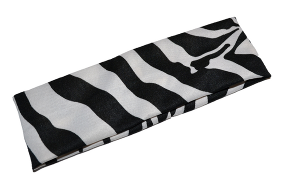 Nylon Zebra Stripe Headband
