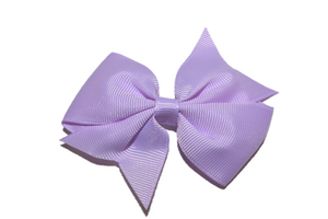 Light Purple Simple Hair Bow Clip - Dream Lily Designs