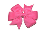 Hot Pink Pinwheel Hair Bow Clip - Dream Lily Designs