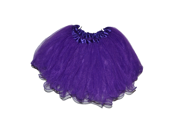 Royal Purple Ruffle Tutu