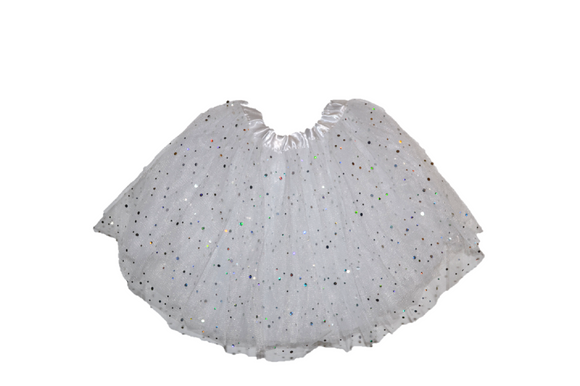 White Sparkle Tutu Child - Dream Lily Designs
