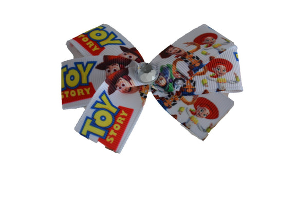 Toy Story Character Bow (Disney) - Dream Lily Designs