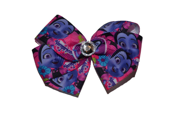Vampirina Disney Junior Pink Purple Bow (Disney) - Dream Lily Designs