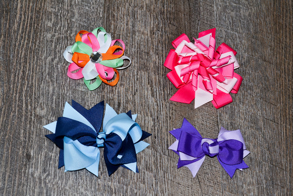 Wholesale Bulk Order - Stacked Boutique and Specialty Bows - Dream Lily Designs