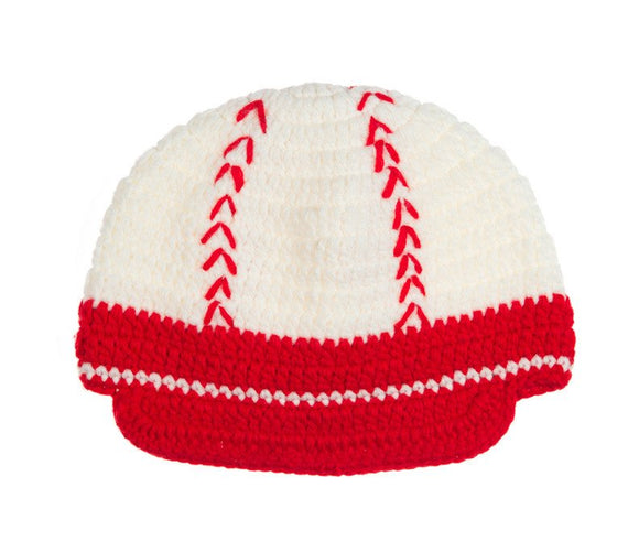 Baseball Crochet Hat - Dream Lily Designs