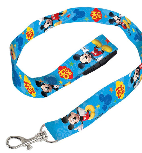 Mickey Mouse Lanyard Disney - Dream Lily Designs