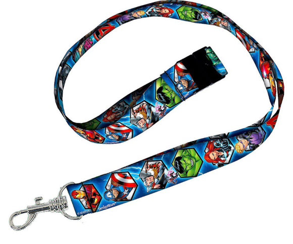Marvel Characters Lanyard Disney - Dream Lily Designs
