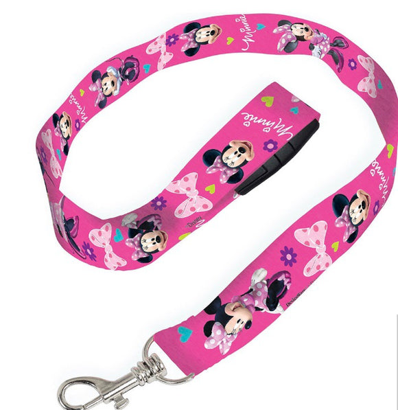 Minnie Mouse Lanyard Disney - Dream Lily Designs