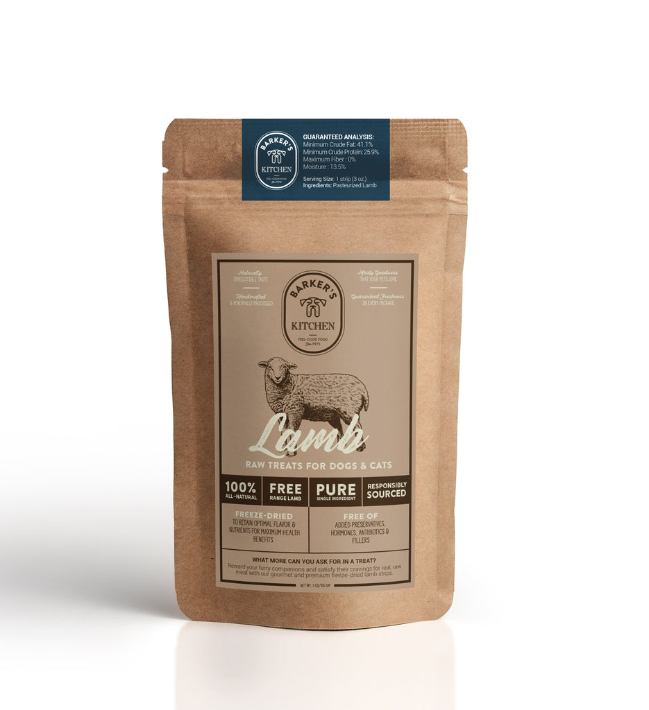 Premium Freeze-Dried Free-Range Lamb Raw Pet Treats