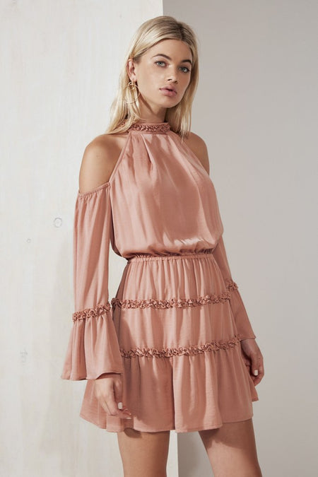 Ella Cold Shoulder Dress