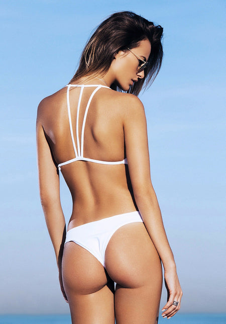 Palmilla Blanco Backless One-Piece