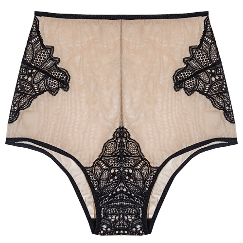 Grace High Waist Panty Nude - Sueño Clothing