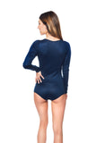 Hana Night Romper in Midnight Blue - Sueño Clothing