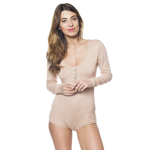 Hana Night Romper in Desert Rose - Sueño Clothing