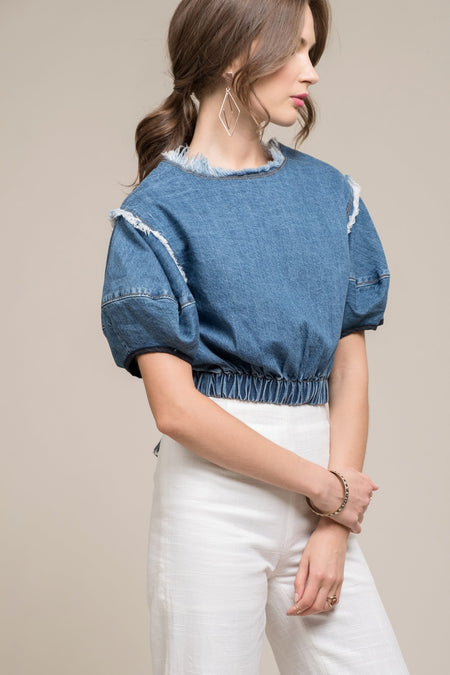 Anagram Stripe Top