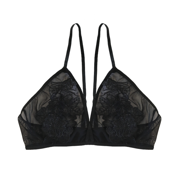 Zoe Bralette Black - Sueño Clothing