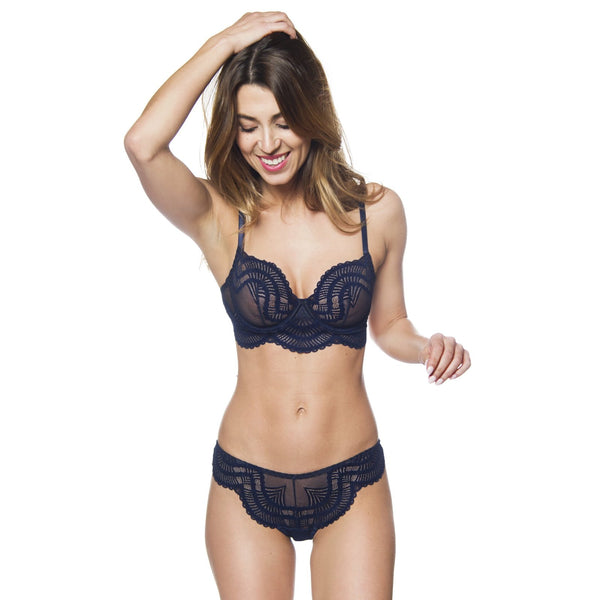 Sasha Bra Midnight Blue - Sueño Clothing