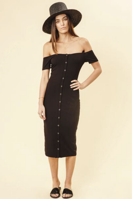 Elliot Dress - BLACK