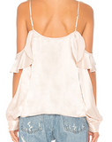 Open Sleeve Blouse - Sueño Clothing