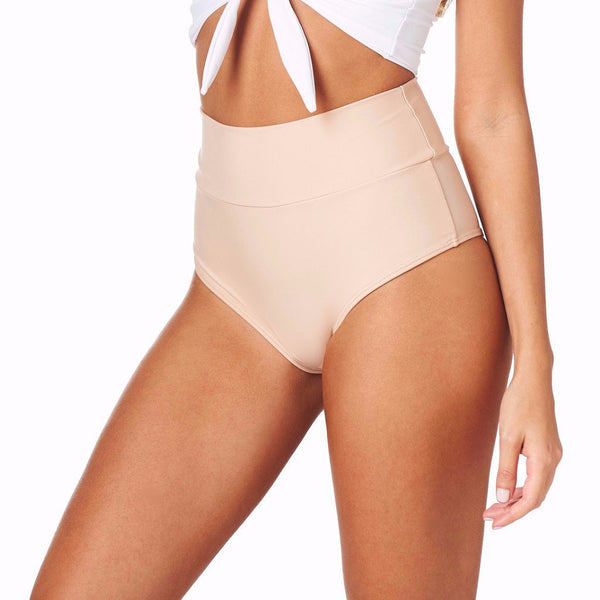 Sphynx High Rise Bikini Bottom - Sueño Clothing
