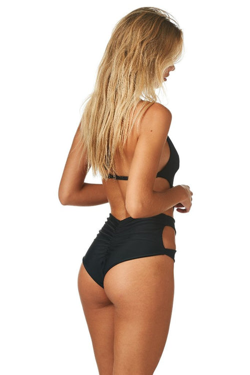 Black Cut-Out Monokini - Sueño Clothing