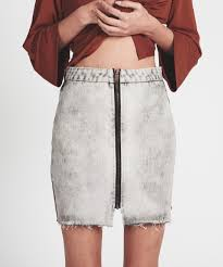 Wild Thing Denim Skirt
