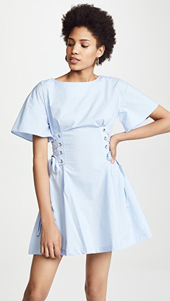 Flare Sleeve Corset Dress - Sueño Clothing
