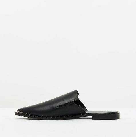 Studded Pixie Loafer - Sueño Clothing
