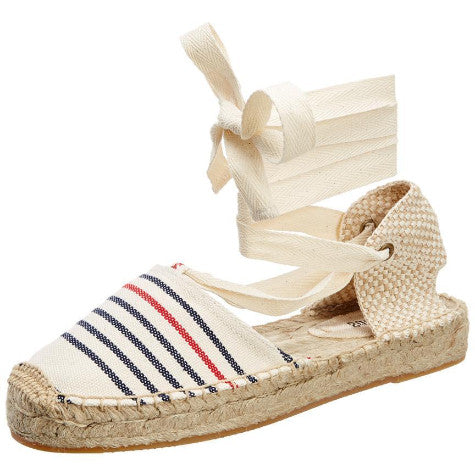 Striped Gladiator Sandal - Sueño Clothing