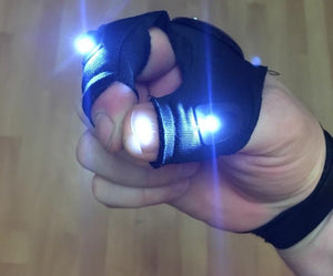 Visilight - Night-time safety gloves - OBEVY