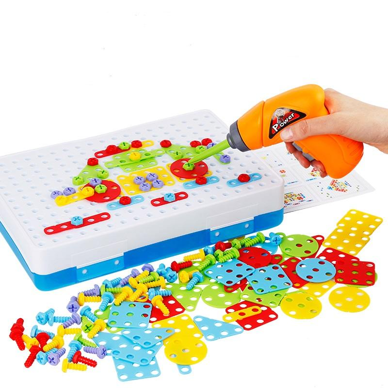 Drill Toy Puzzle