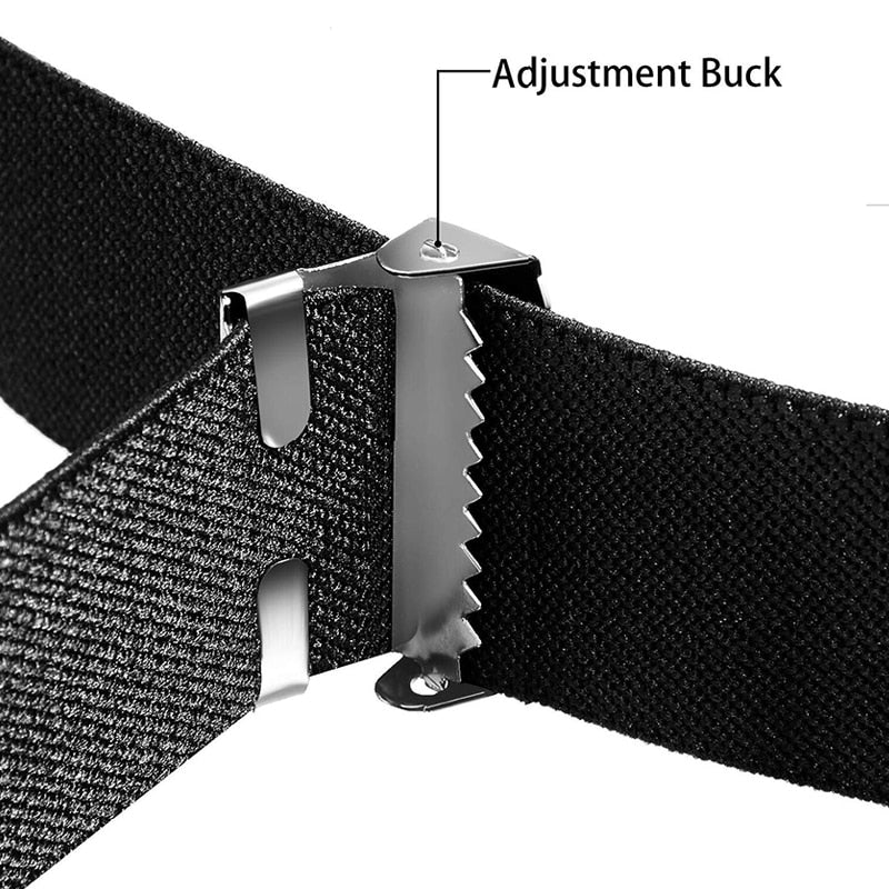 Women/Men Buckle-Free Waist Belt For Jeans & Pants