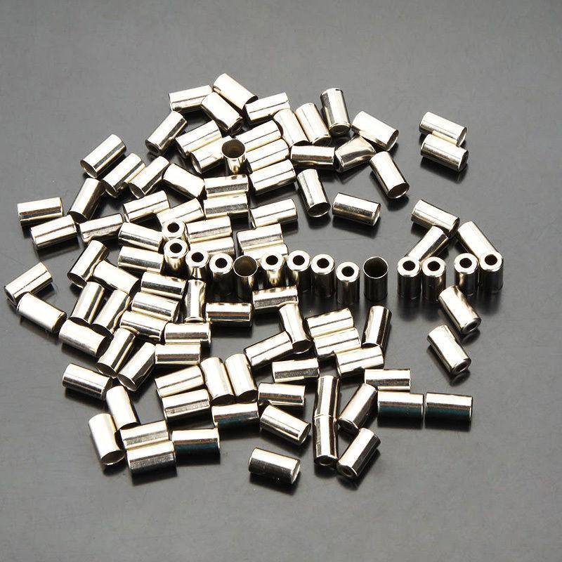 Silver Brake Housing Ferrule (Mega 100 pack) - OBEVY