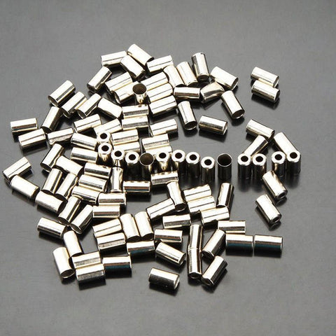 Silver Brake Housing Ferrule (Mega 100 pack)