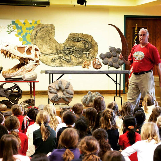 "At Home Family Fun VIRTUAL Event  - Fossil & Mineral Activities & Zoom Class with Museum ""Tour"" - dinosaursrocksuperstore"