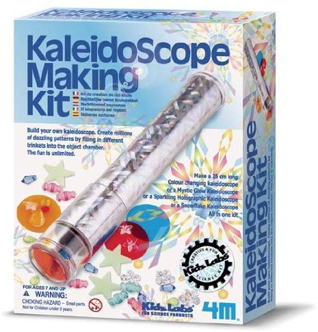 Kaleidoscope Making Kit Physics Project - dinosaursrocksuperstore