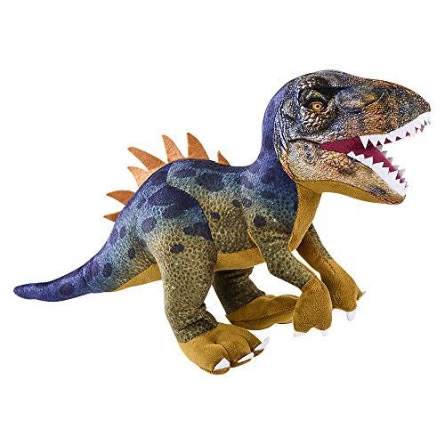 Adventure Planet Dinosaur Plush T-Rex Printed Stuffed Animal, Wildlife, Bold Colors, Soft Polyester Fabric 19""