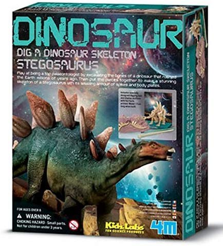 Kidz Lab Stegosaurus Dig a Dino Excavation Kit - dinosaursrocksuperstore