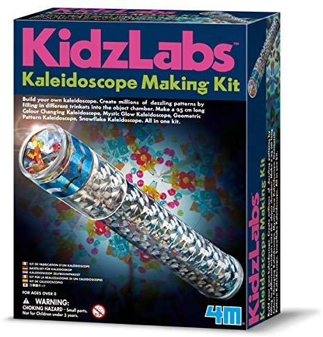 4M Kidz Labs Kaleidoscope Making Building Kit - dinosaursrocksuperstore