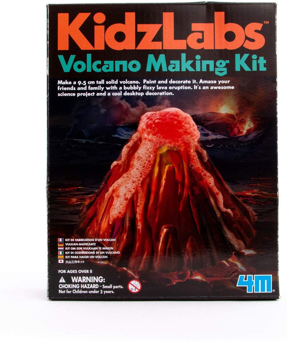 4M KidzLabs Volcano Making Kit - dinosaursrocksuperstore
