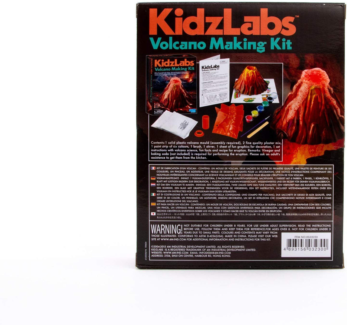 4M KidzLabs Volcano Making Kit
