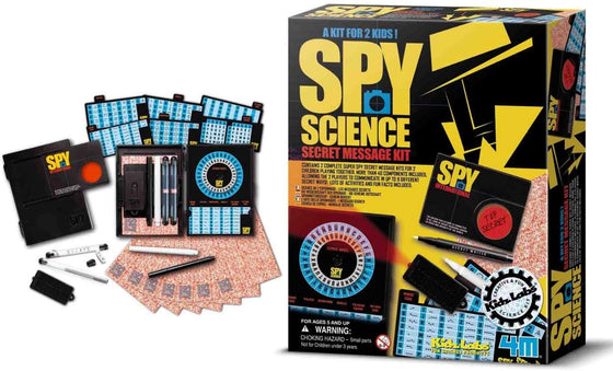 Kidz Labs - Spy Science Secret Message Kit - Ages 5+