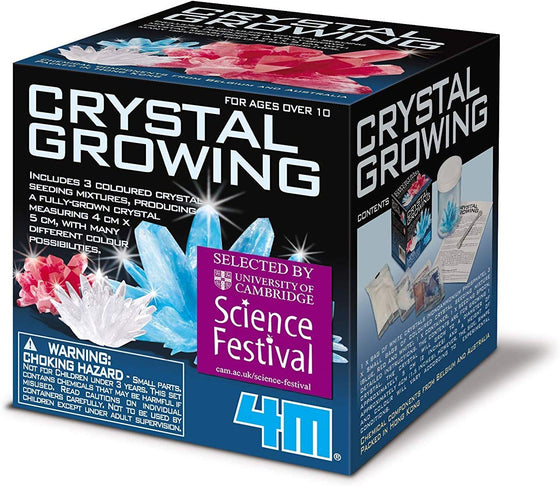 4M Crystal Growing Kit - dinosaursrocksuperstore