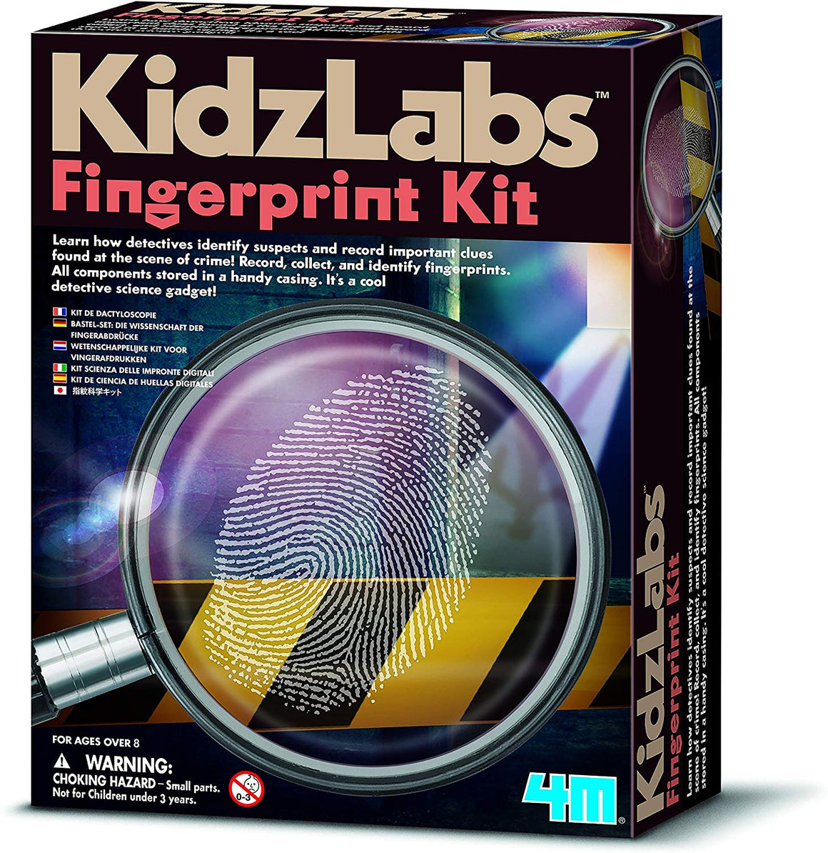 Kidz Lab Science Museum Finger Print Kit - dinosaursrocksuperstore